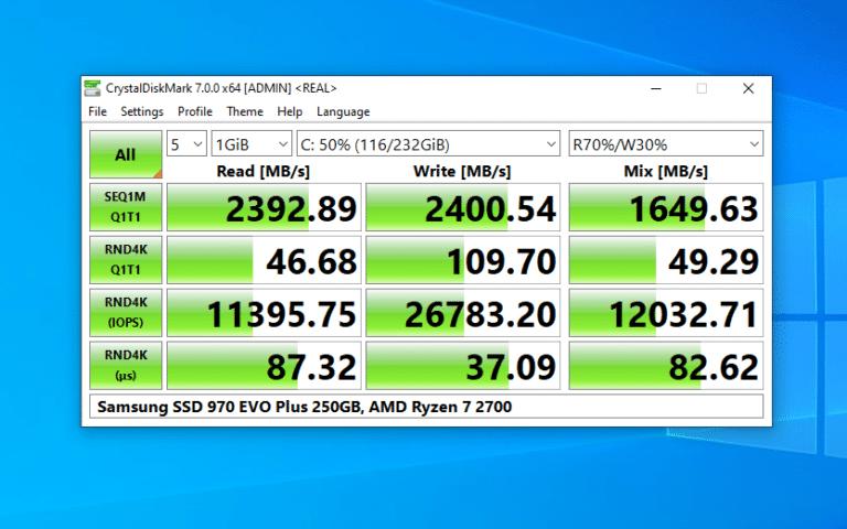 8 phần mềm kiểm tra tốc độ đọc, ghi của ổ cứng SSD, HDD tốt nhất và hoàn toàn miễn phí 3
