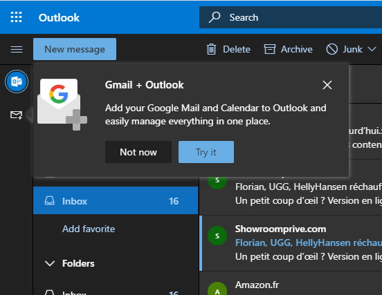 Gmail, Google Drive, and Google Calendar are coming to Outlook.com