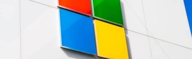 Colorful Microsoft logo
