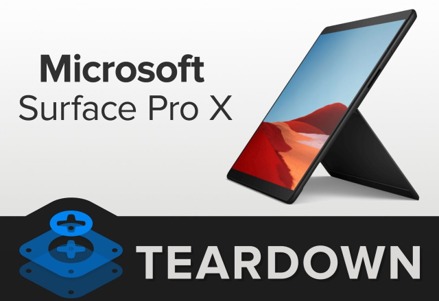 Microsoft Surface Pro X teardown