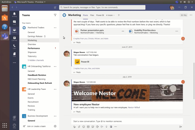 Microsoft announces public preview of Microsoft Teams for Linux