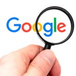 Google under magnifying glass
