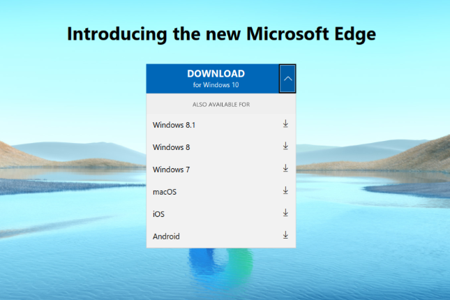 The new Chromium-based Microsoft Edge is now available