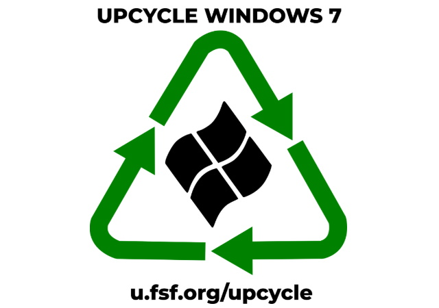 Upcycle Windows 7