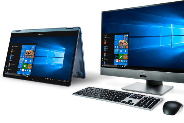 Windows 10 laptop and computer