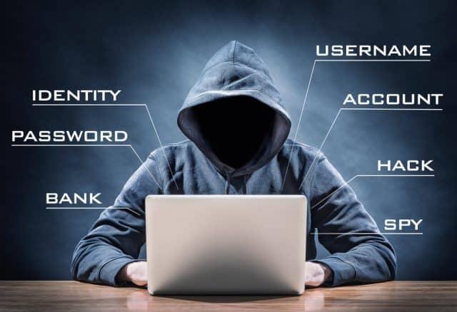 Identitätsdiebstahl-Hacker