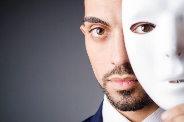 identity theft mask