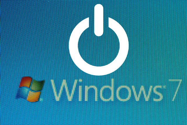 Windows 7 power icon