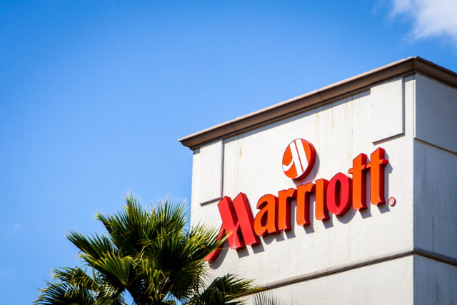 Marriott sign