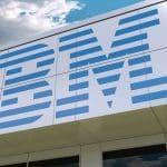 IBM logo clouds
