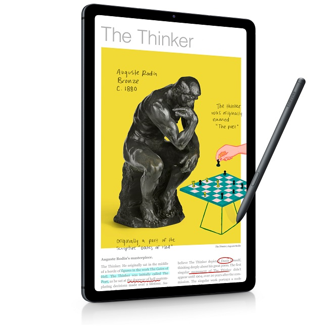 Samsung Galaxy Tab S6 Lite Is A Beautiful Android 10 Tablet That Comes With An S Pen Betanews