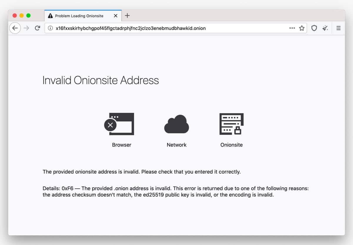 Error tor browser гирда tor browser плохо работает hydraruzxpnew4af