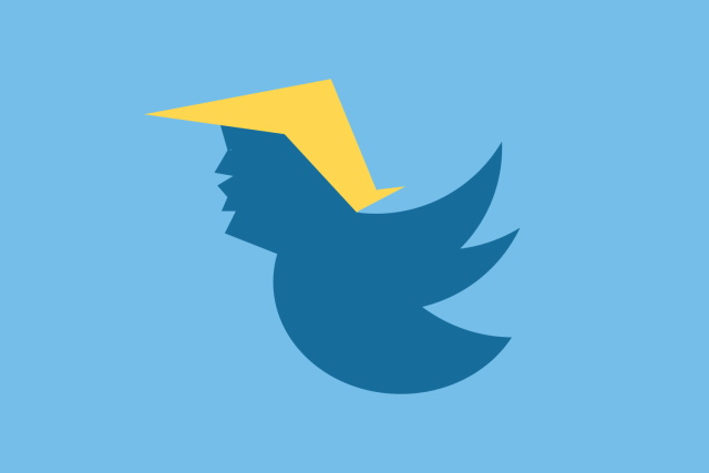 Trump Twitter logo