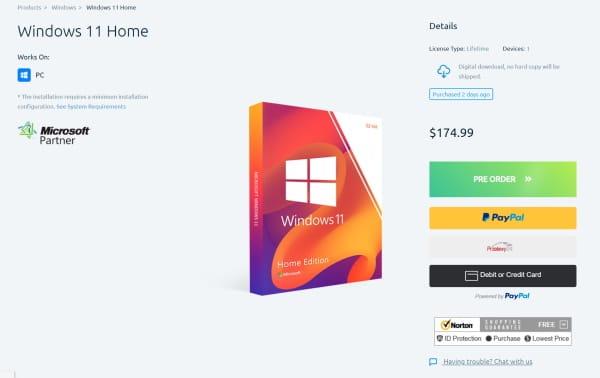 Windows 11 kaufen