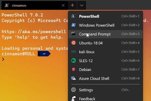 Windows Terminal Preview 1.1