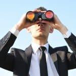 binoculars lomg term view