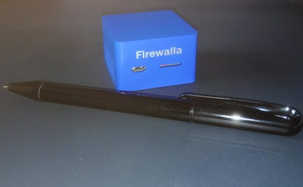 Firewalla with biro