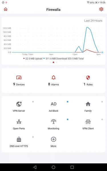 Firewalla app