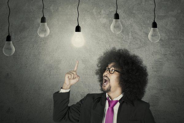 innovation lightbulb moment