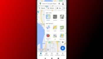Google Maps COVID-19 layer