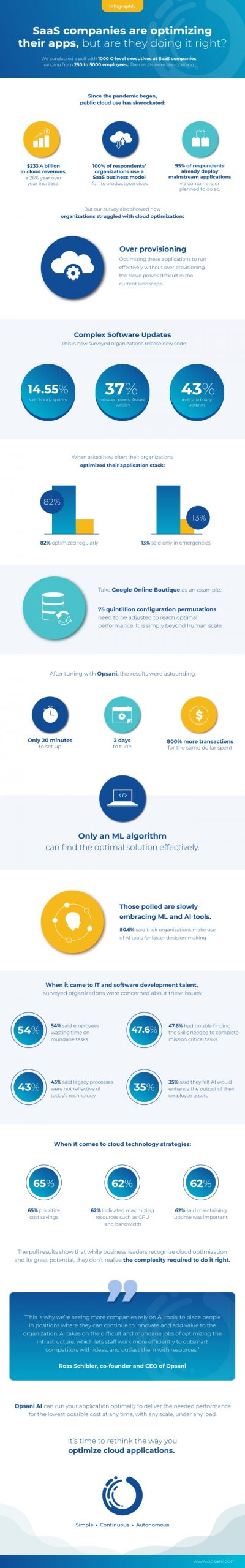 Opsani cloud infographic