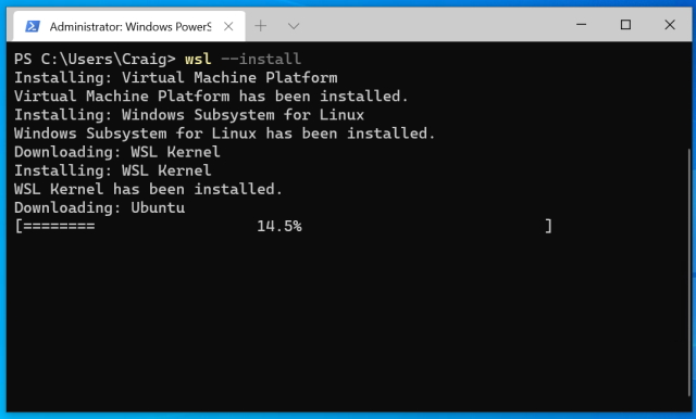 How to install Linux distros in Windows 10's WSL 2