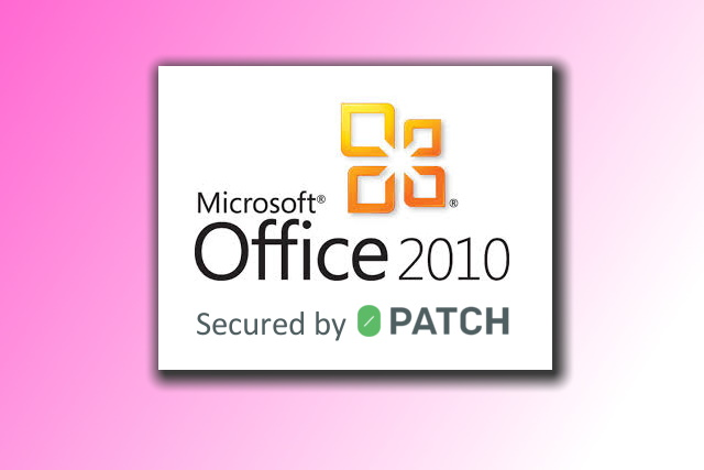 Microsoft Office 2010 0patch