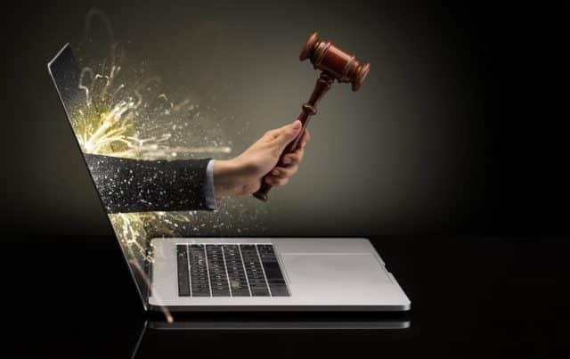 laptop gavel