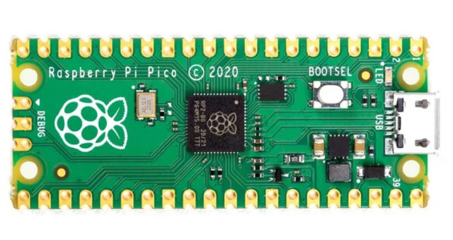 Raspberry Pi Pico is a $4 microcontroller for projects