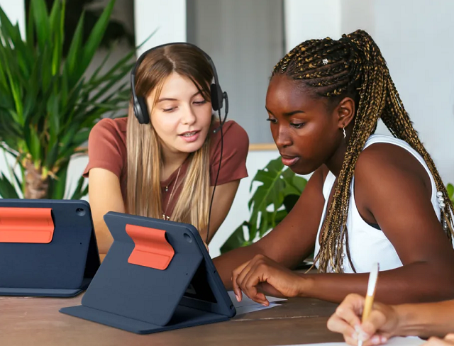 photo of Logitech Rugged Combo 3 Touch transforms iPad into the ultimate laptop for education image