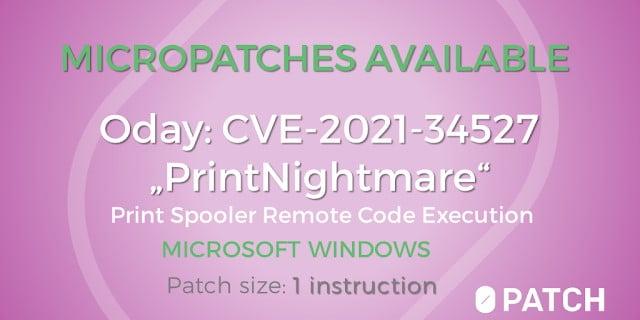 0patch PrintAlbtraum