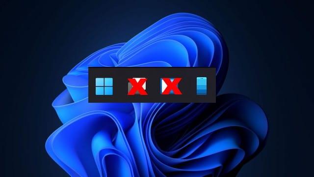 Windows 11 Taskleistenschaltflächen