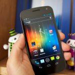 Galaxy Nexus HSPA+ front