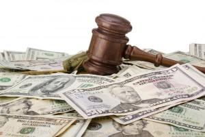 gavel money cash law