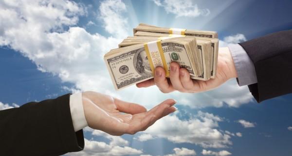 cloud money cash cloud hands