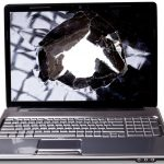 laptop screen broken busted cracked