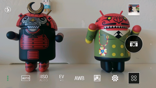 HTC One M8 Camera Settings