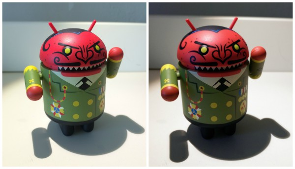 HTC One M8 vs iPhone 5s Diktator