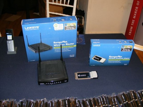 Linksys' New RangePlus Router