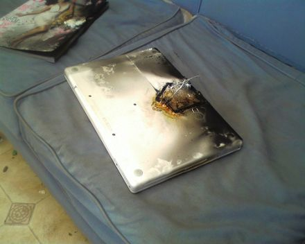Burnt MacBook Pro