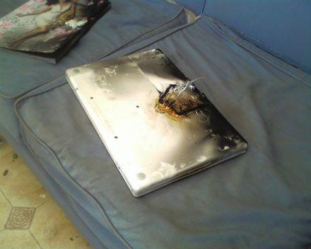 Burnt MacBook Pro