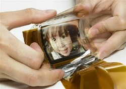 Sony's Paper-thin Color Display