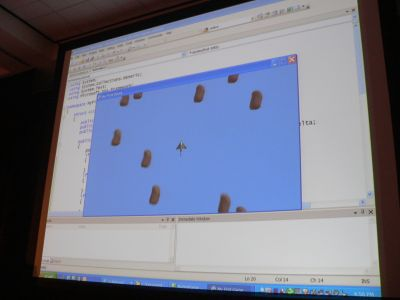 Microsoft's David Weller's demonstration of making an XNA Game Studio Express sample into an Asteroids prototype.