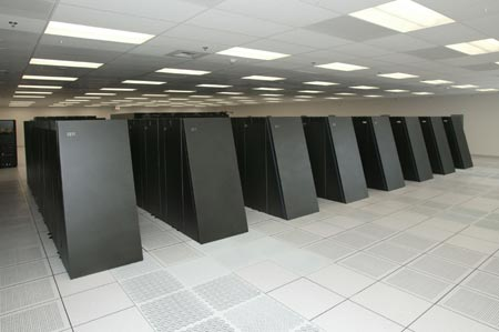 IBM's BlueGene/L Supercomputer, built for Lawrence Livermore National Laboratories.