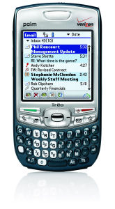 Palm Treo 755p smartphone