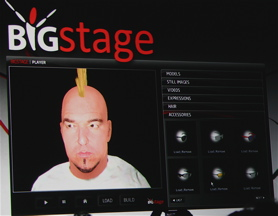 Smashmouth's Steve Harwell in avatar creation mode