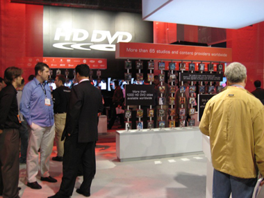 HDDVD Booth
