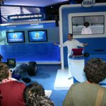Intel WiMax booth