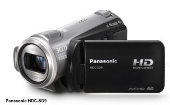 Panasonic HDC-HS9 high-definition camcorder
