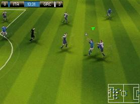 FIFA '08 on Nokia's N-Gage